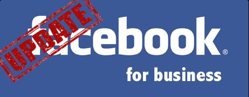 עדכון עמוד הפייסבוק העסקי
