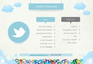 שיווק באינטרנט באמצעות אסטרטגיות שיווק ברשתות חברתיות - טוויטר