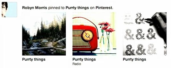 תוכן שמשותף דרך אתרי צד שלישי - למשל פינטרסט, ייקבלו בולטות משמעותית הרבה יותר בניוז פיד של החברים