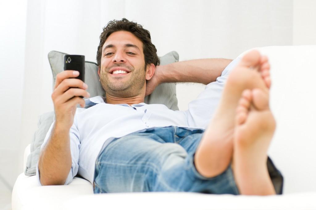 הלקוח מתייחס למסרון (SMS) בכל מקום ובכל זמן