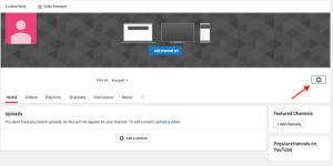 הגדרת ערוץ יוטיוב
