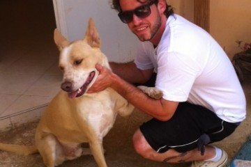 קמפיין פייסבוק הפגיש מחדש בין עידן לכלבו האובד ג'וני